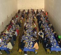 Comida popular el día de las fiestas Ansó