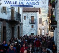 Marcha senderista en Ansó